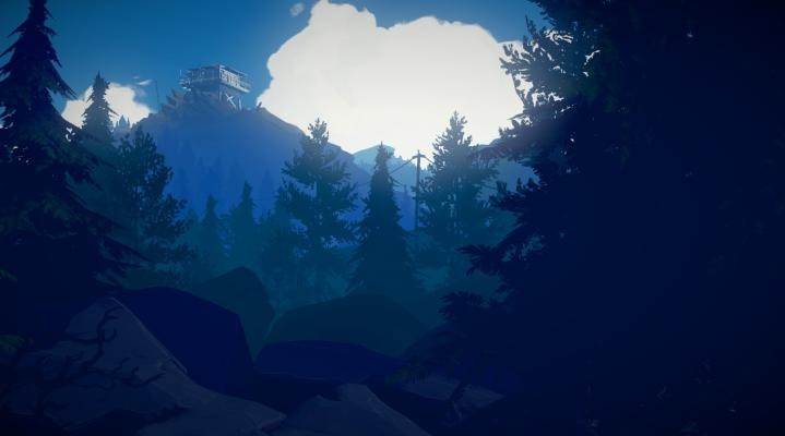 Firewatch Mountain Desktop Wallpaper 418