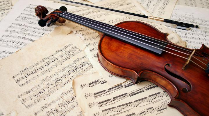 Violin Music Widescreen Wallpaper 388