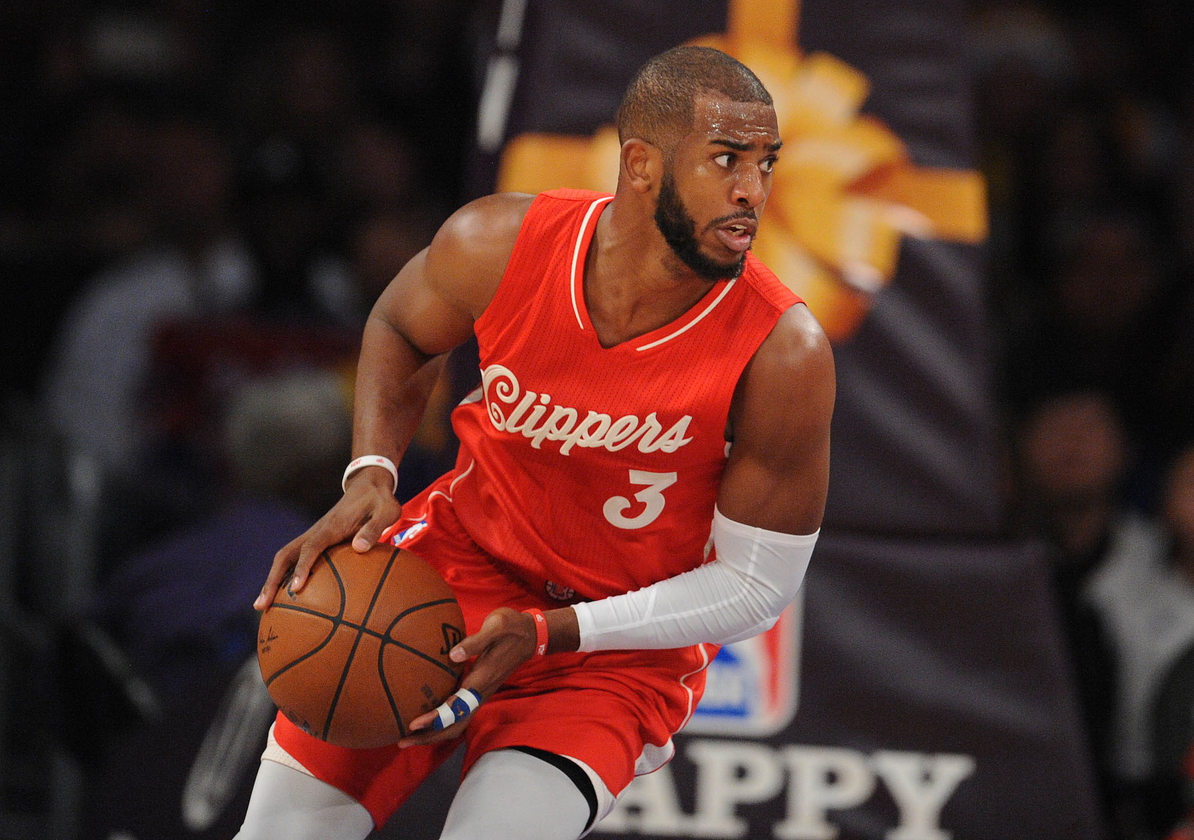 chris paul clippers 4k computer background 887