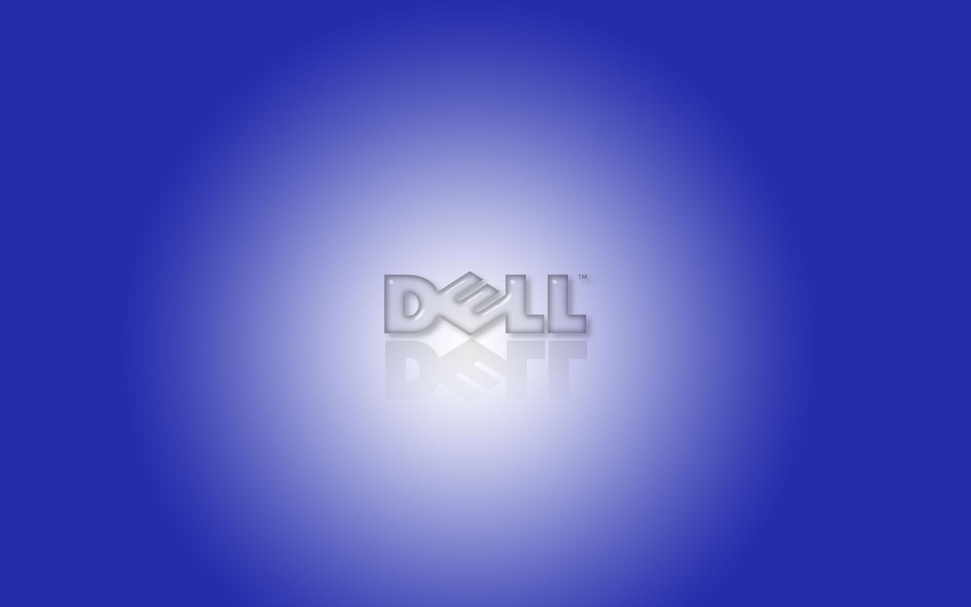 dell blue widescreen desktop background 880