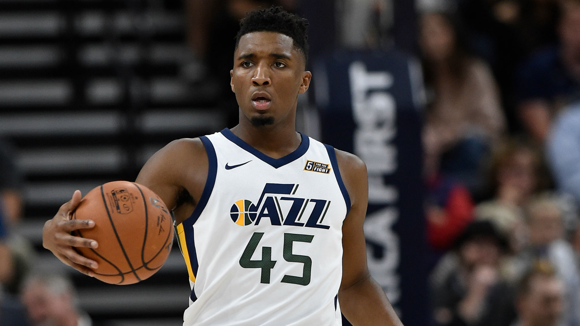 donovan mitchell jazz widescreen desktop wallpaper 443