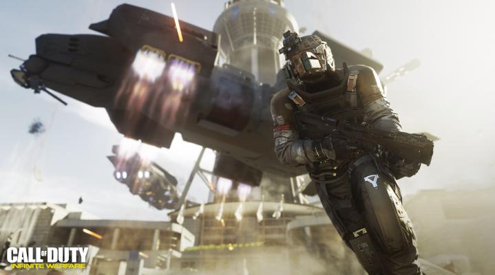 Call of Duty Infinate Warfare 4k Widescreen Computer Wallpaper 490