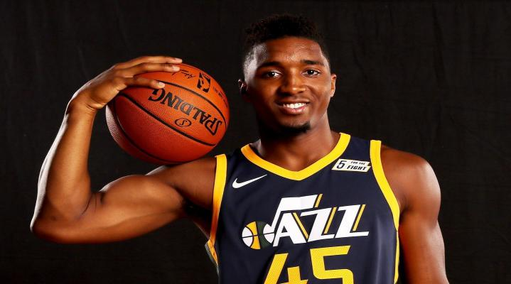 Donovan Mitchell Desktop Wallpaper 447