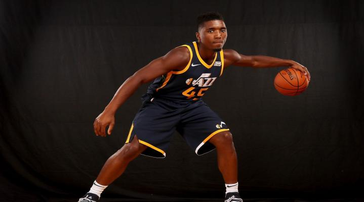 Donovan Mitchell Jazz Computer Desktop Wallpaper 444