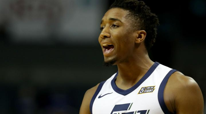 Donovan Mitchell Widescreen Desktop Wallpaper 442