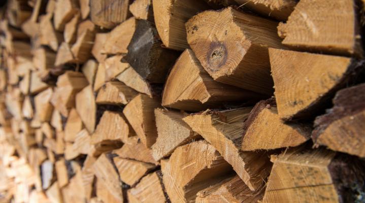 Firewood Pile Desktop Wallpaper 1329