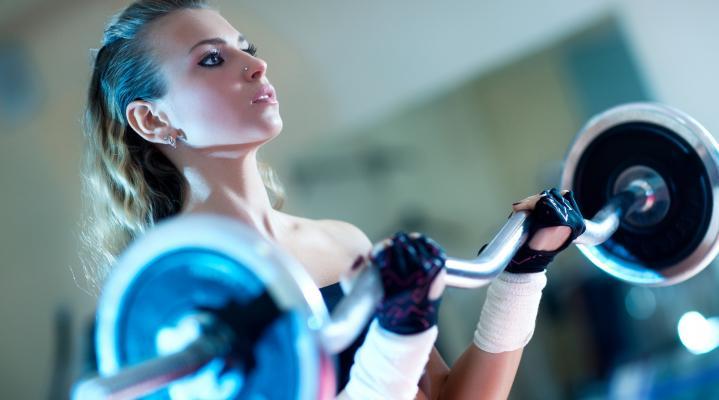 Girl Exercise Workout Desktop Wallpaper 892