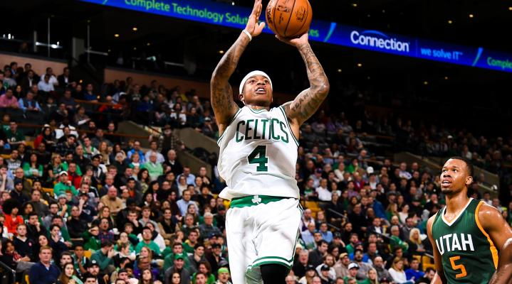 Isaiah Thomas Boston Celtics Widescreen Desktop Wallpaper 1547