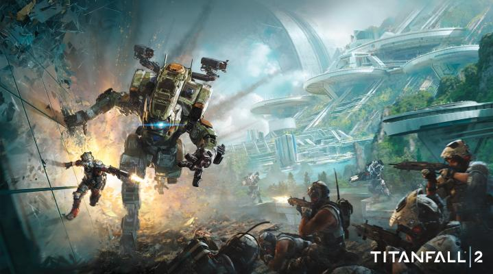 Titanfall 2 4K Widescreen Wallpaper 459