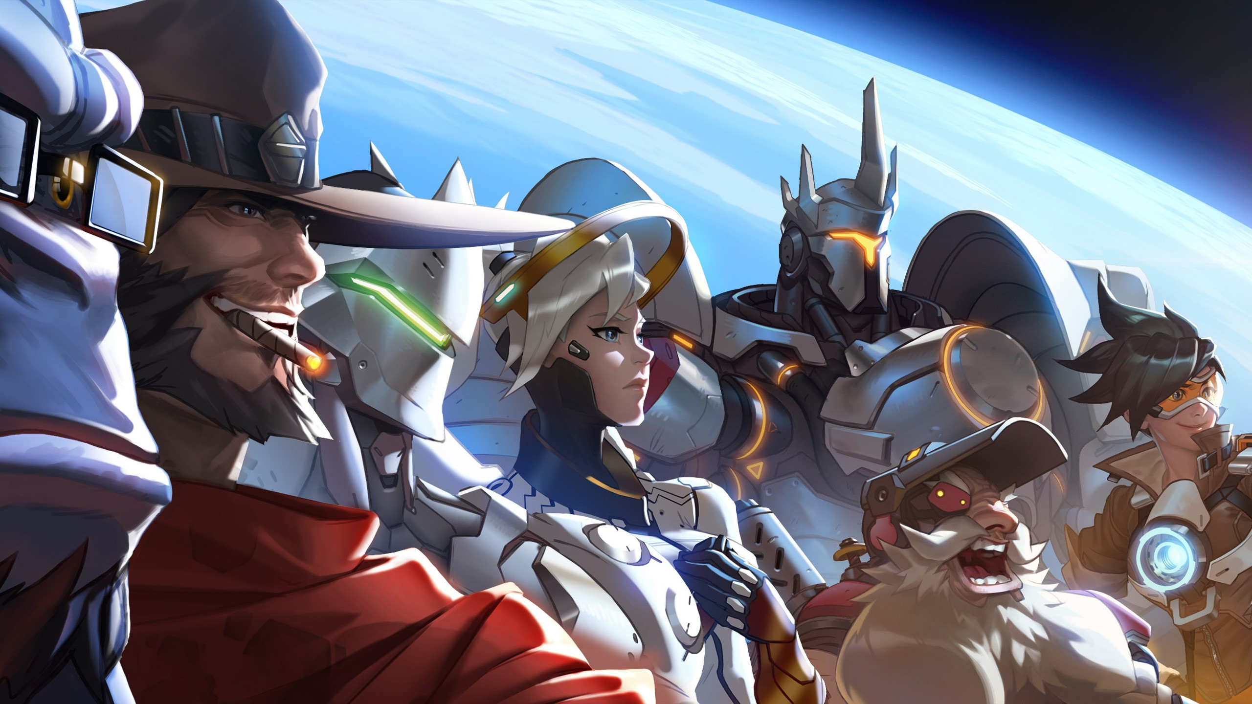 overwatch 4k widescreen desktop wallpaper 1242