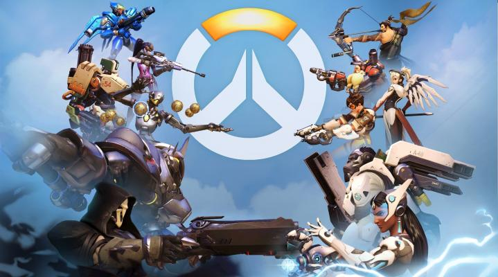 Overwatch Homescreen Widescreen Desktop Wallpaper 1241