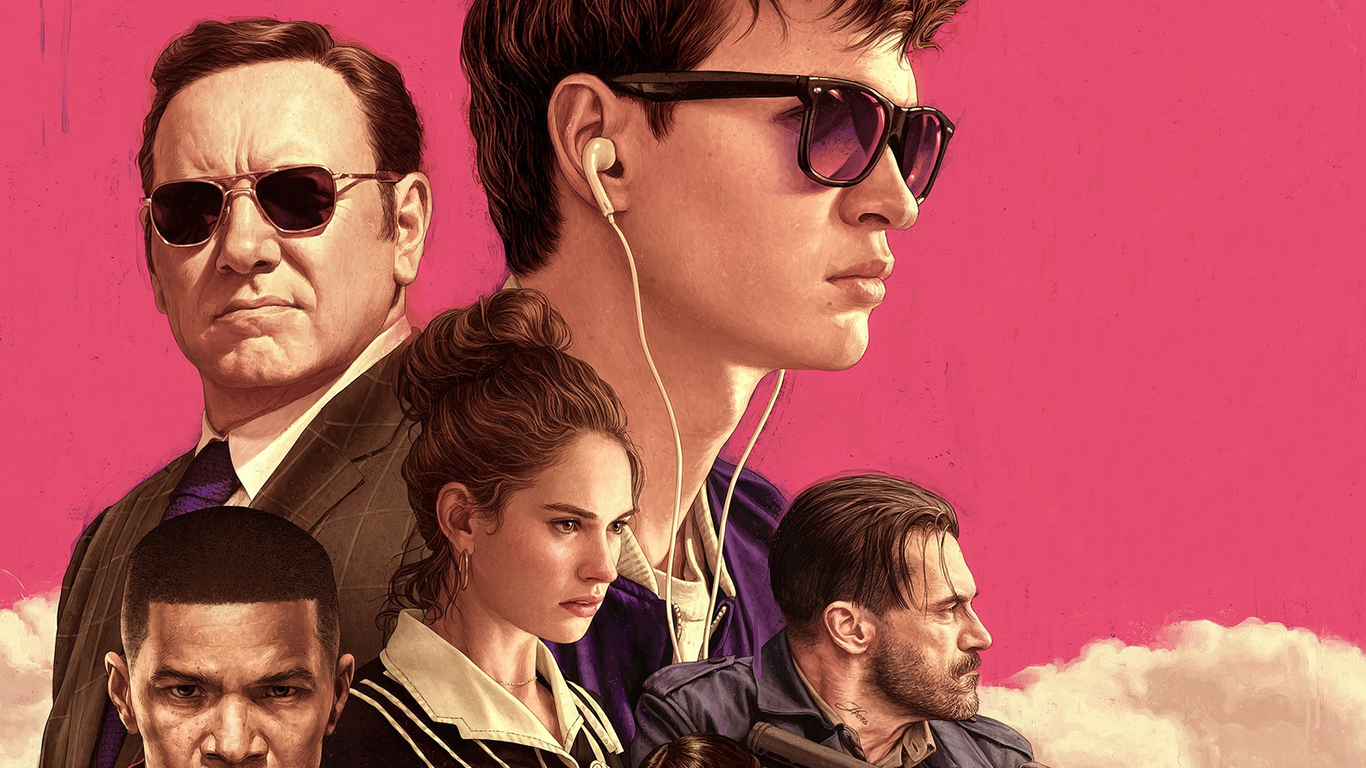 baby driver movie desktop wallpaper 42