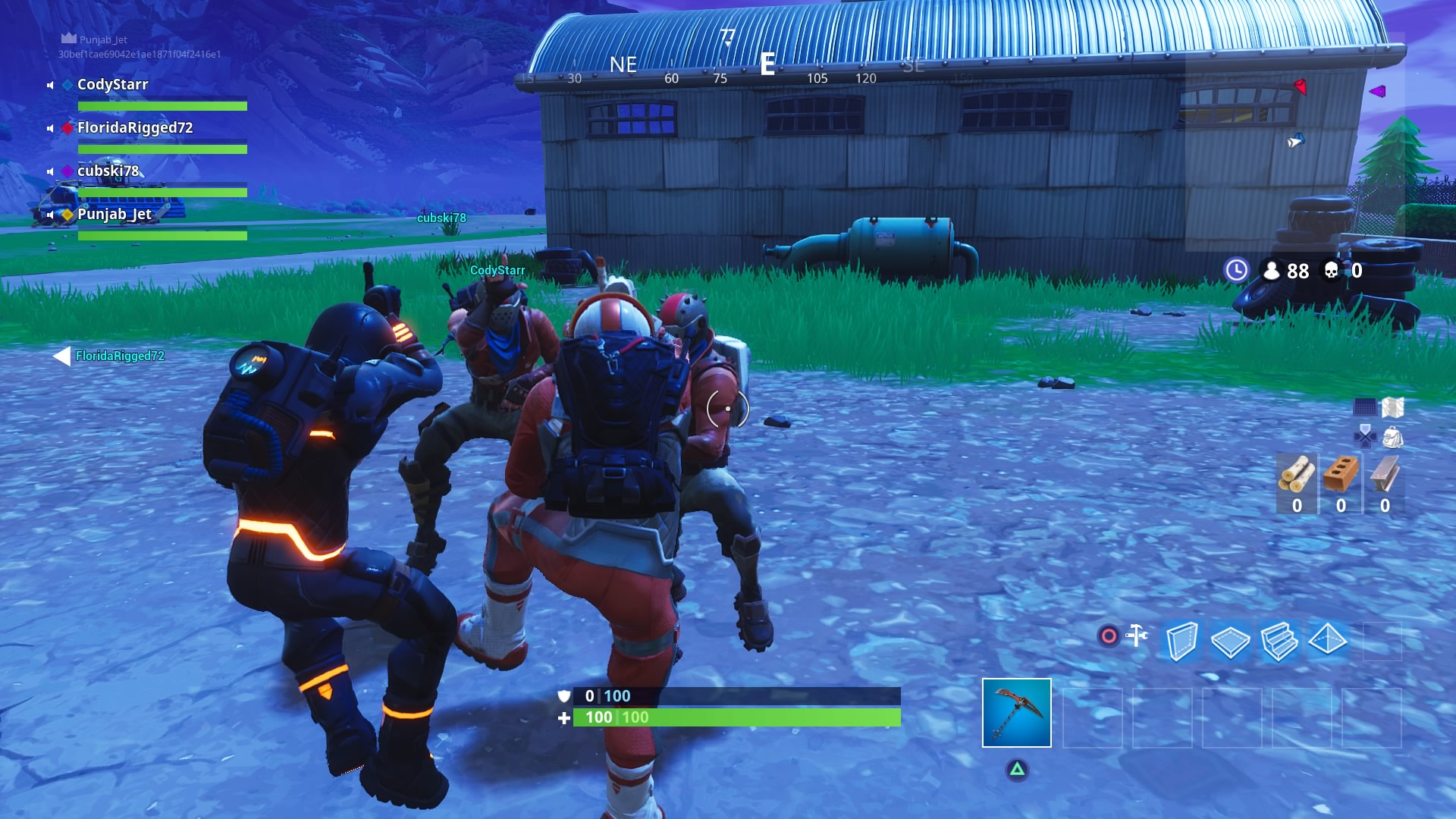 Fortnite Dance Party Desktop Wallpaper 753