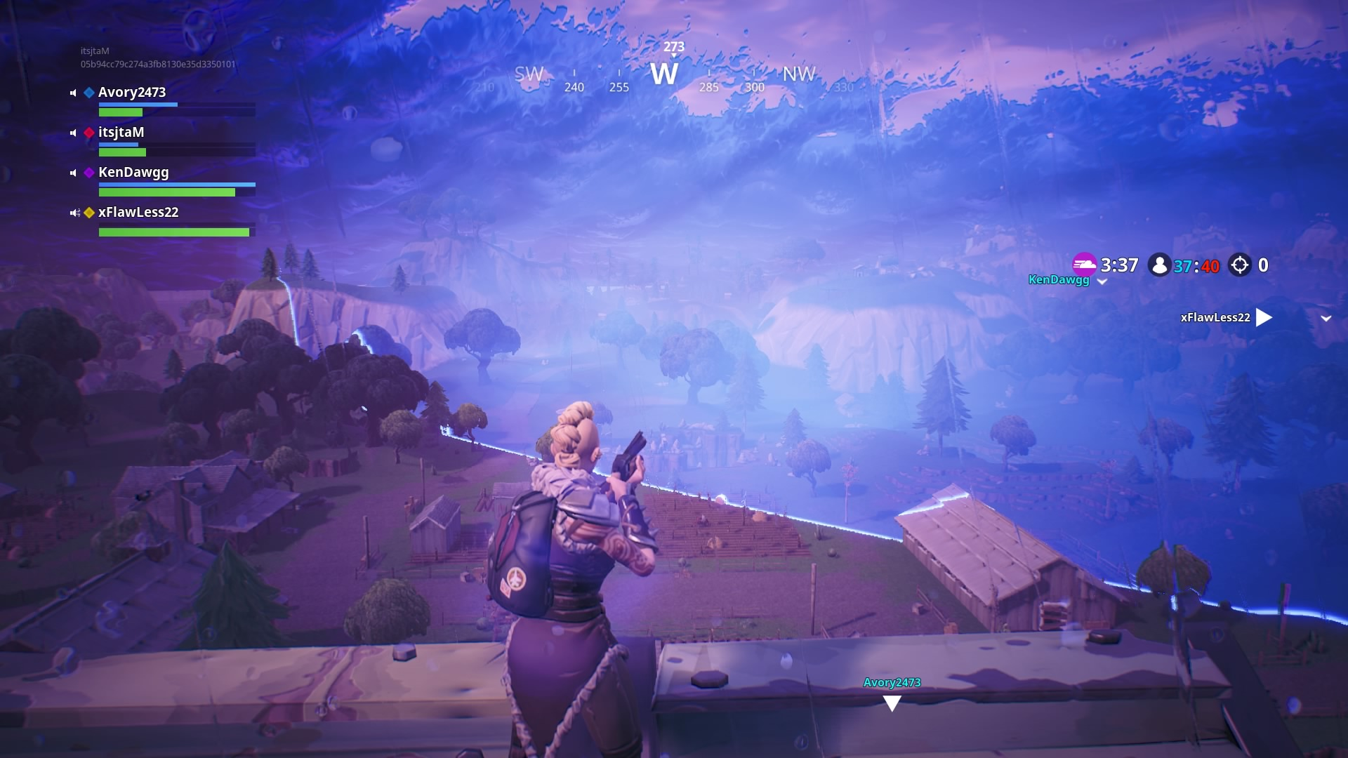 fortnite launch pad storm widescreen computer background 1454