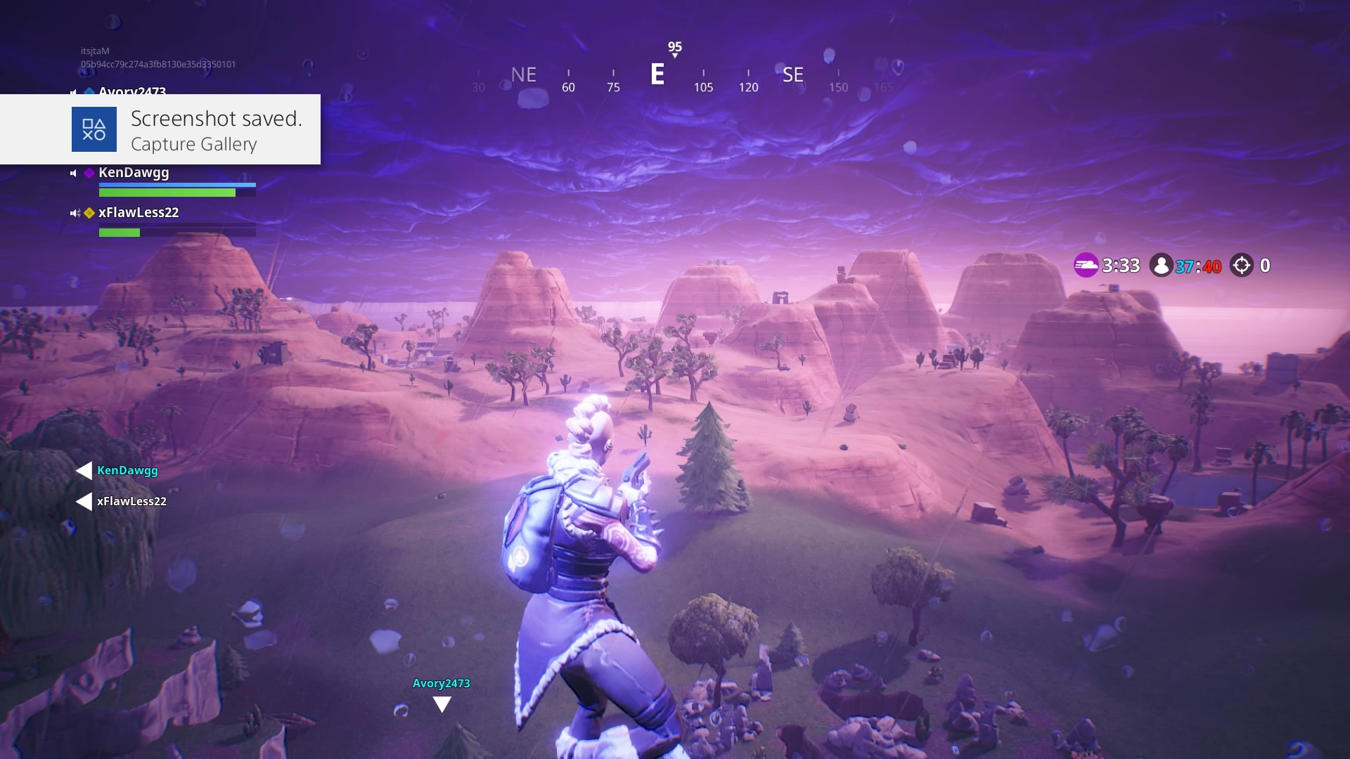 fortnite paradise palms storm widescreen computer background 1455