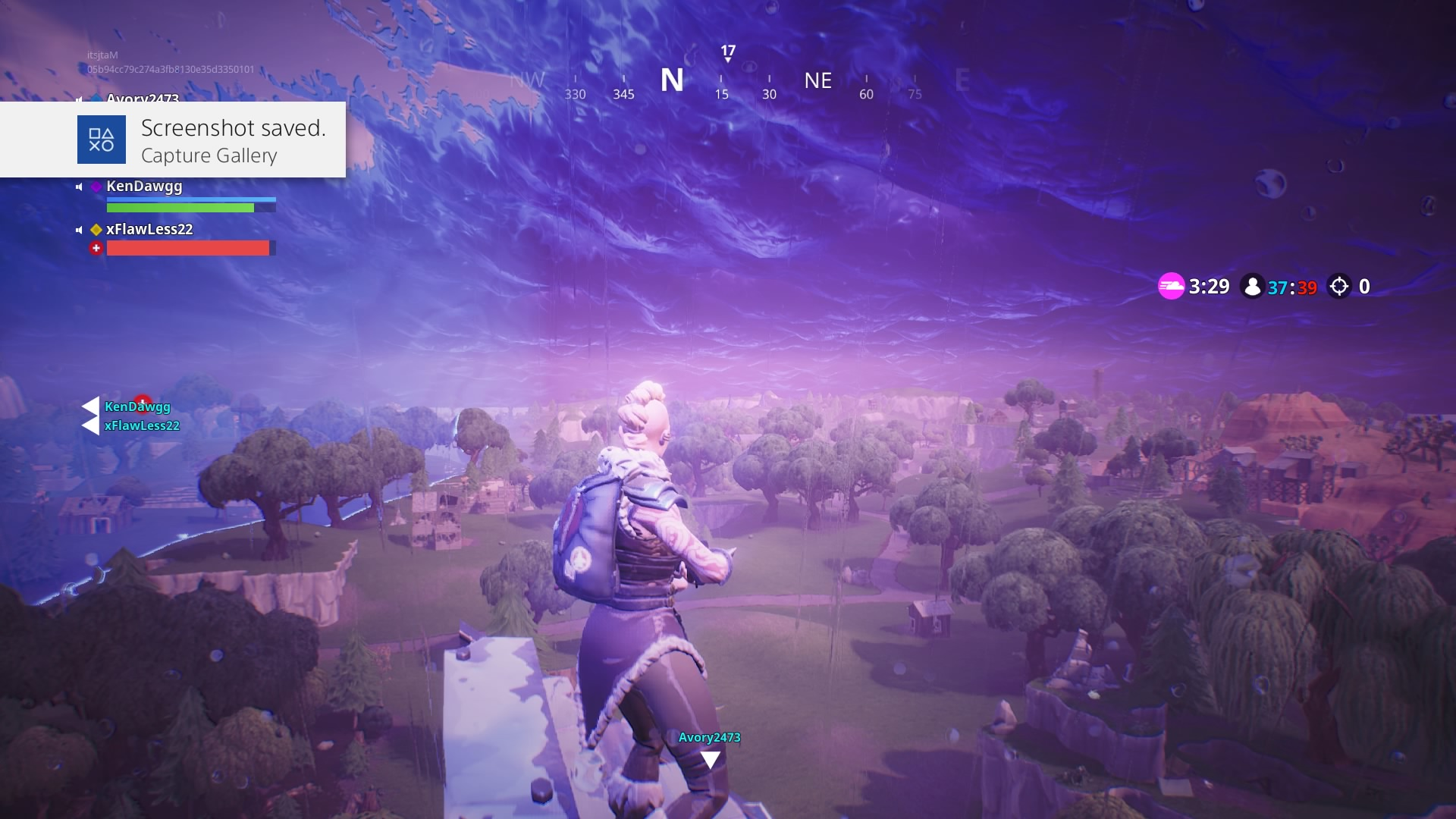 fortnite paradise palms storm widescreen computer background 1456