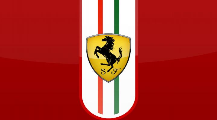 Ferrari Logo Wide Wallpaper 119