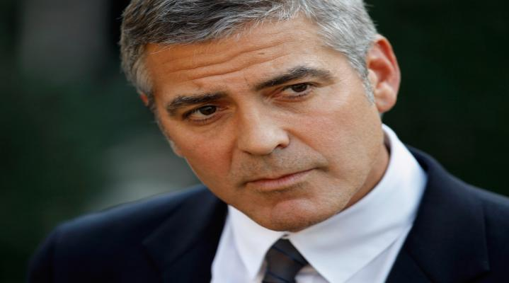 George Clooney Desktop Wallpaper 1056
