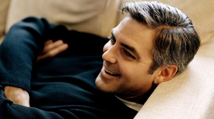 George Clooney Widescreen Desktop Wallpaper 1054