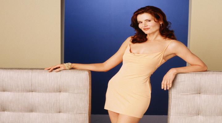 Sexy Geena Davis Dress Wallpaper 132