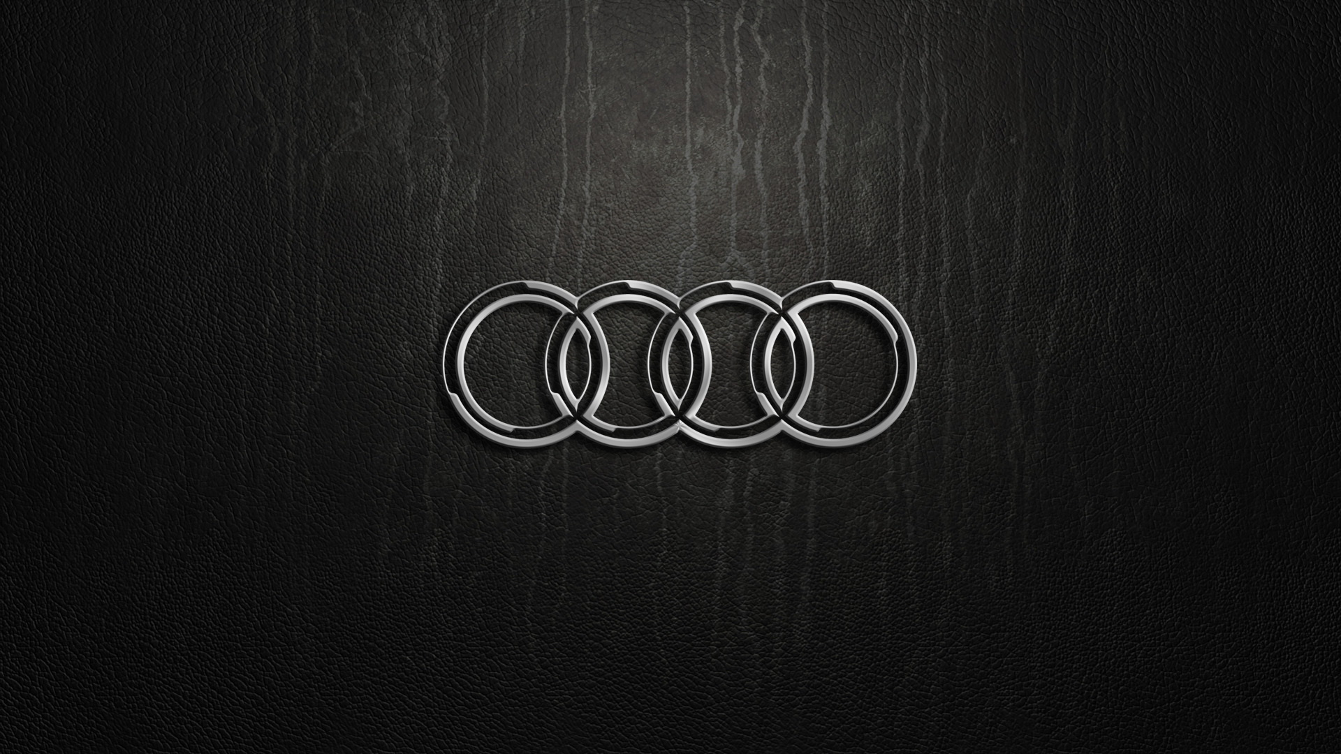 audi car logo black widescreen computer background 1076