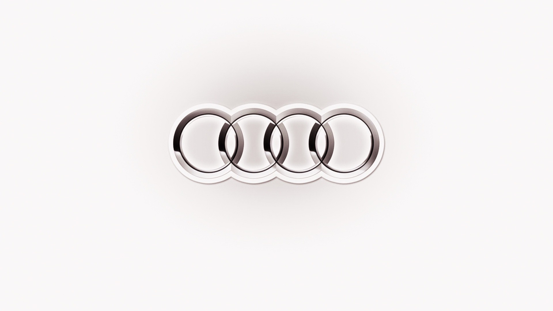 audi logo widescreen desktop wallpaper 1072