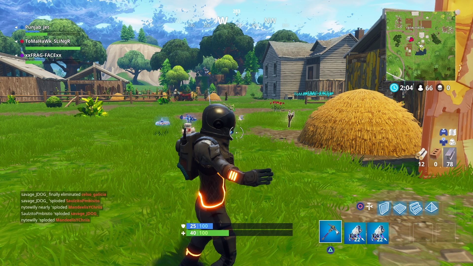fortnite fatal fields desktop wallpaper 767
