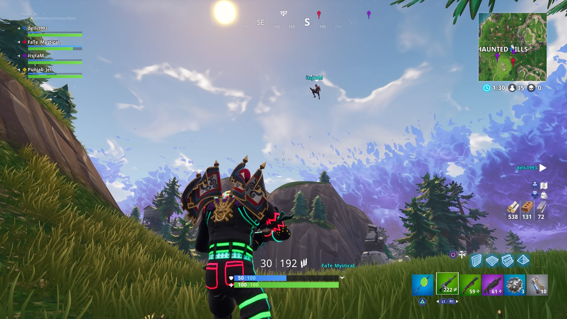 fortnite flying desktop wallpaper 791
