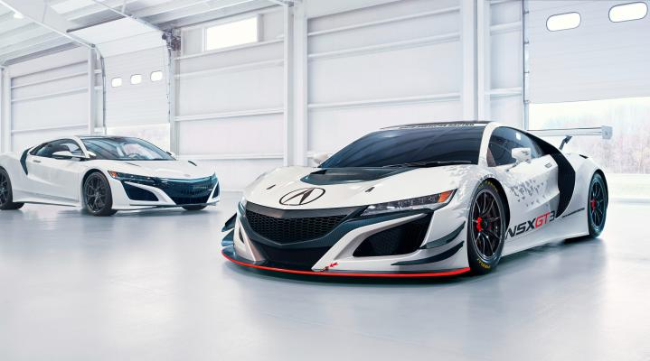 Acura NSX GT3 Wallpaper 323