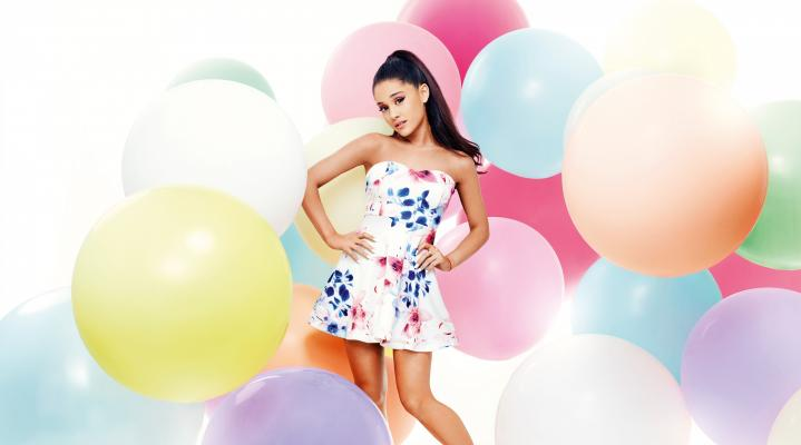 Ariana Grande 4K Widescreen Computer Background 1098