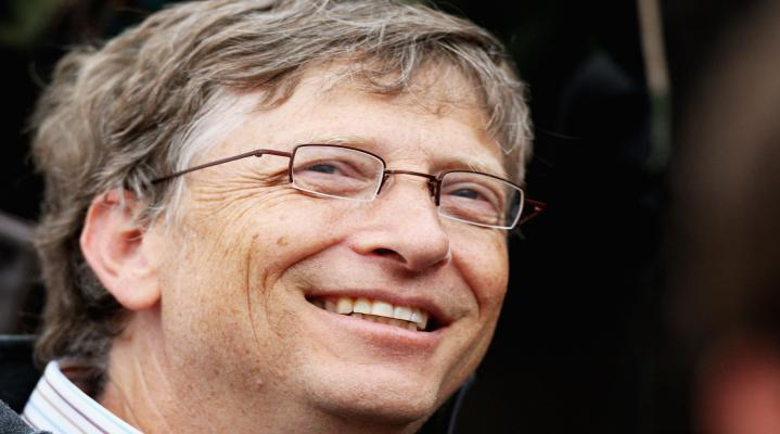 Bill Gates Widescreen Wallpaper 301