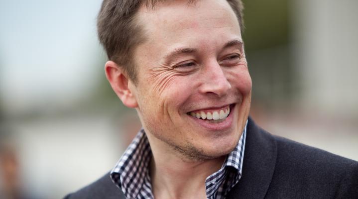 Elon Musk Telsa 296