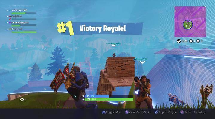 Fortnite Victory Royale Desktop Wallpaper 797