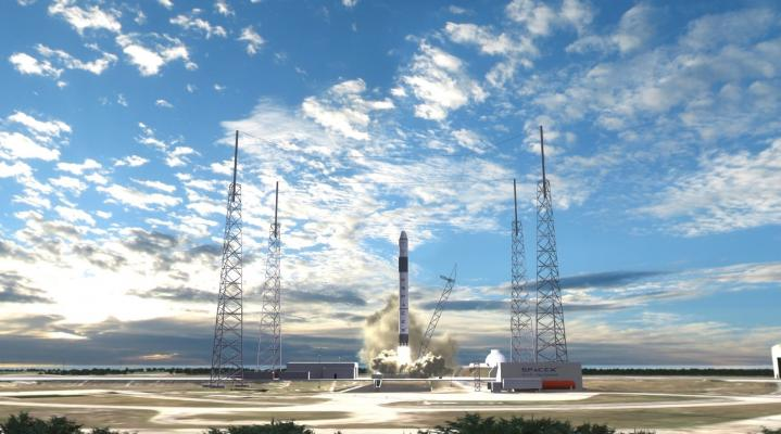 SpaceX Rocket Widescreen Wallpaper 257