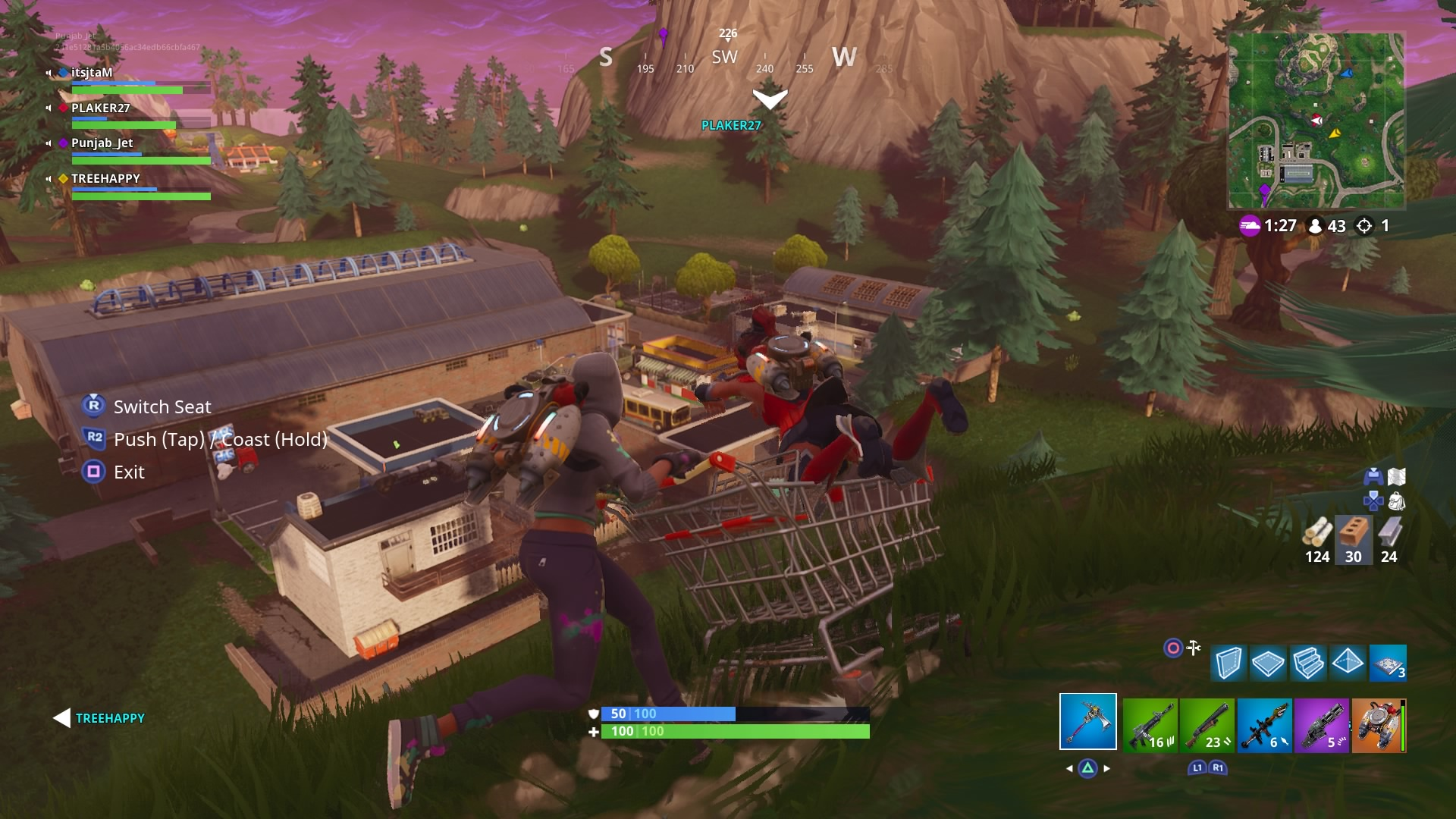 fortnite cart desktop wallpaper 1461