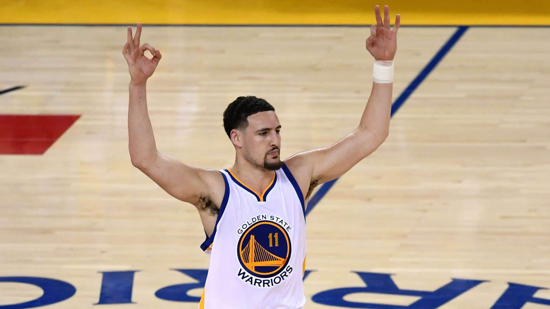 klay thompson 3 widescreen wallpaper 351