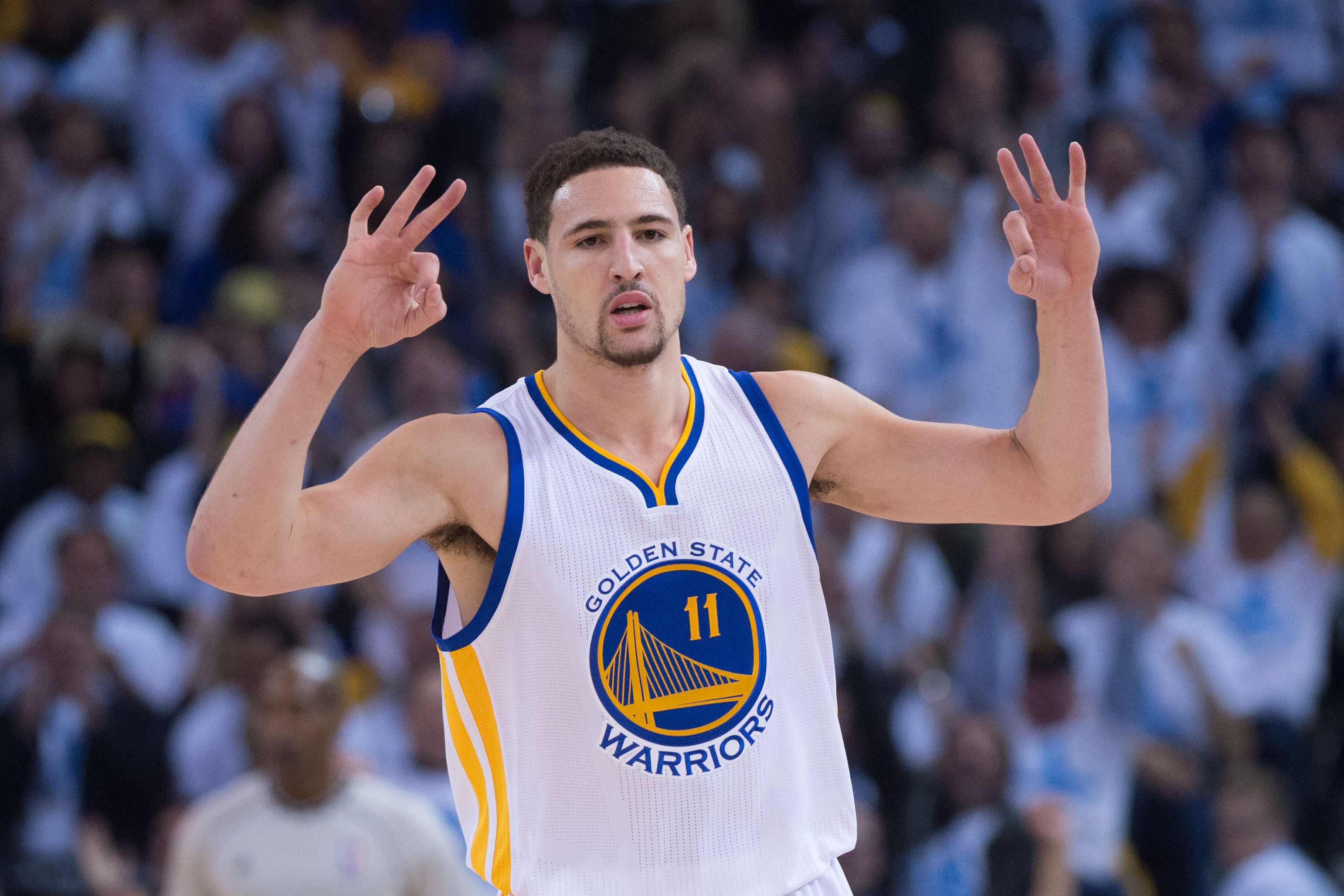 klay thompson 4k widescreen wallpaper 343