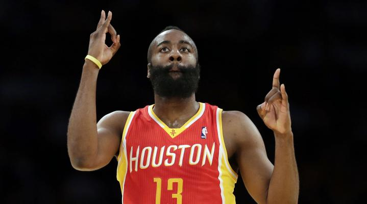 James Harden Houston 337