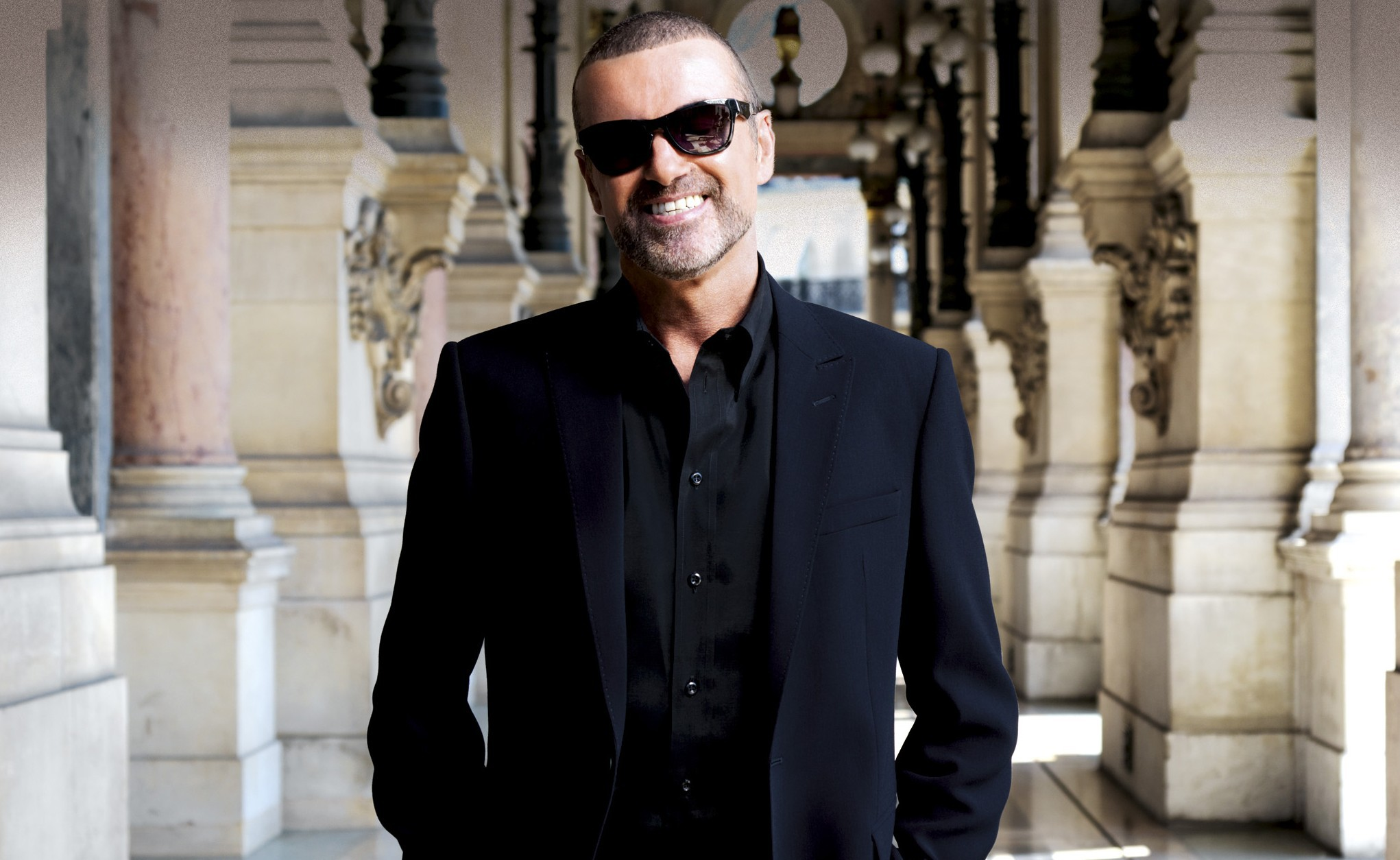 george michael celebrity smile wallpaper 625