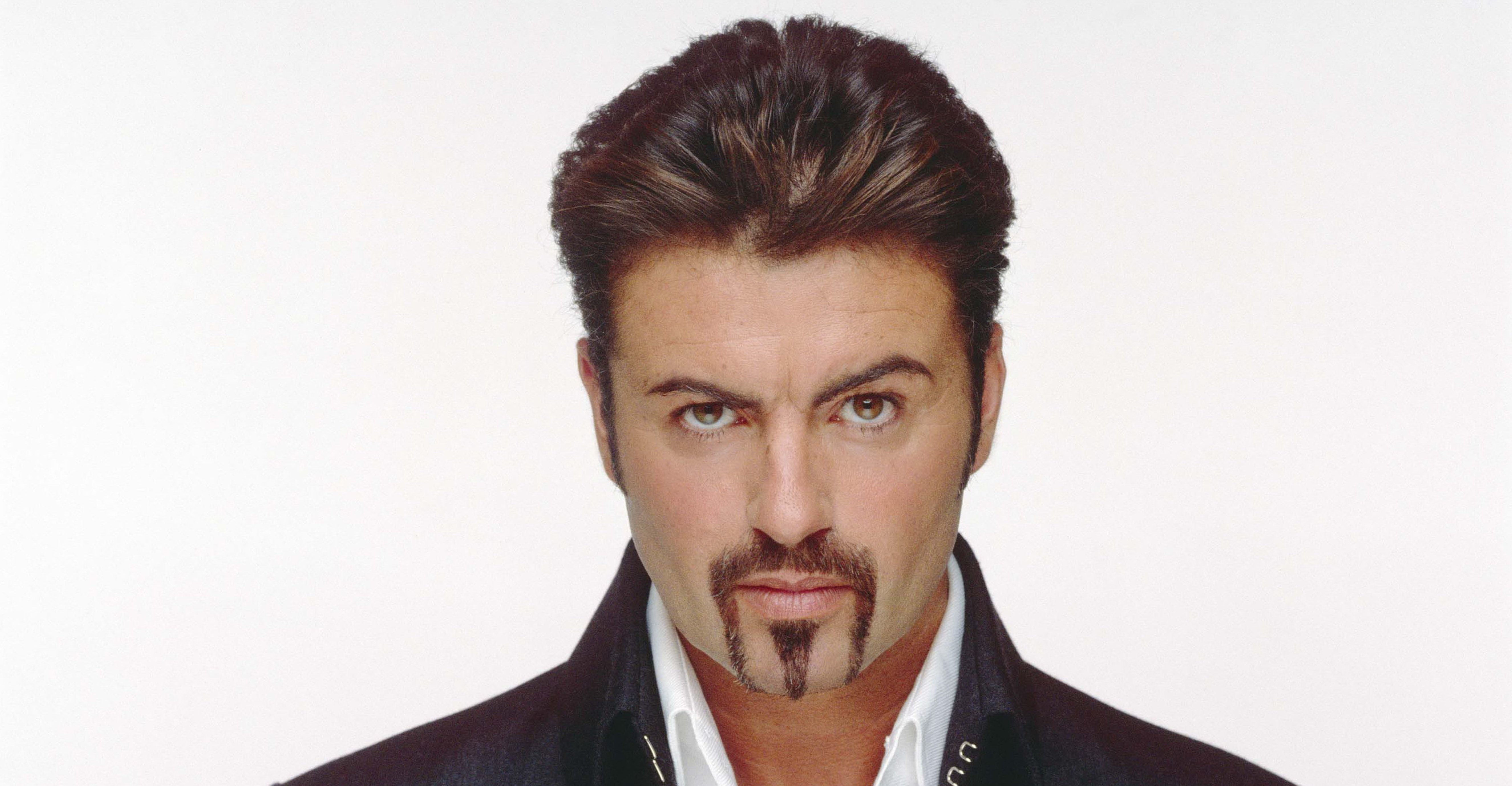 george michael widescreen face wallpaper 619