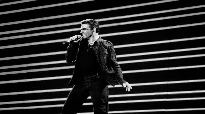 Black and White George Michael Wallpaper 622