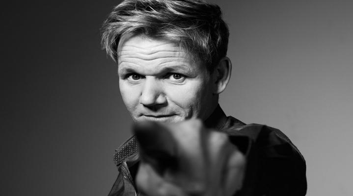 Black and White Gordon Ramsay Wallpaper 628
