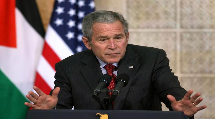 George Bush Widescreen HD Wallpaper Background 602
