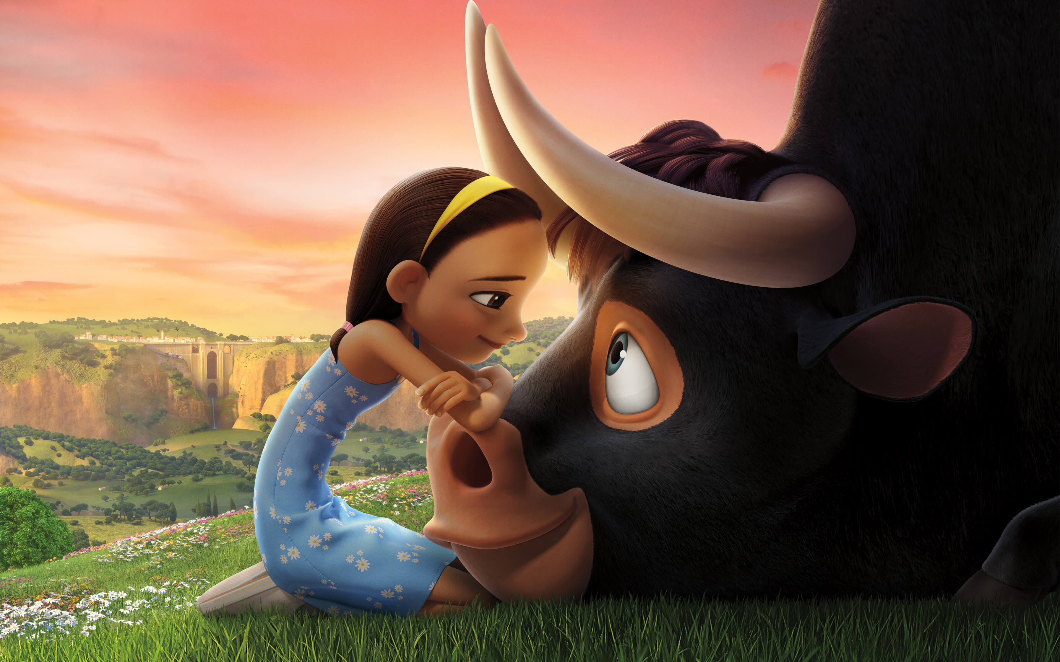 ferdinand movie 4k widescreen desktop wallpaper 1431