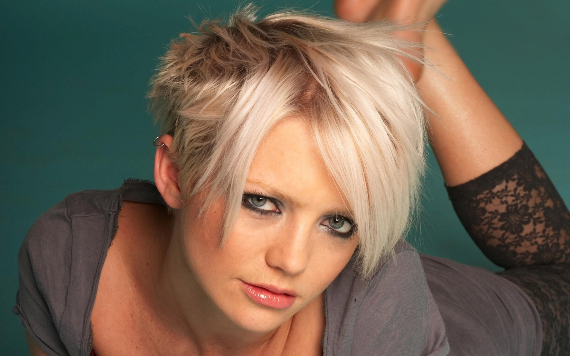 hannah spearritt face makeup wallpaper 646