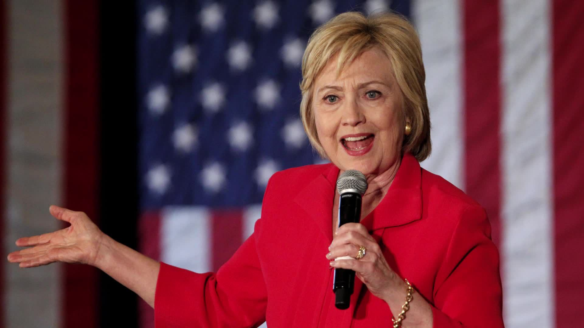 hillary clinton widescreen computer background 1025