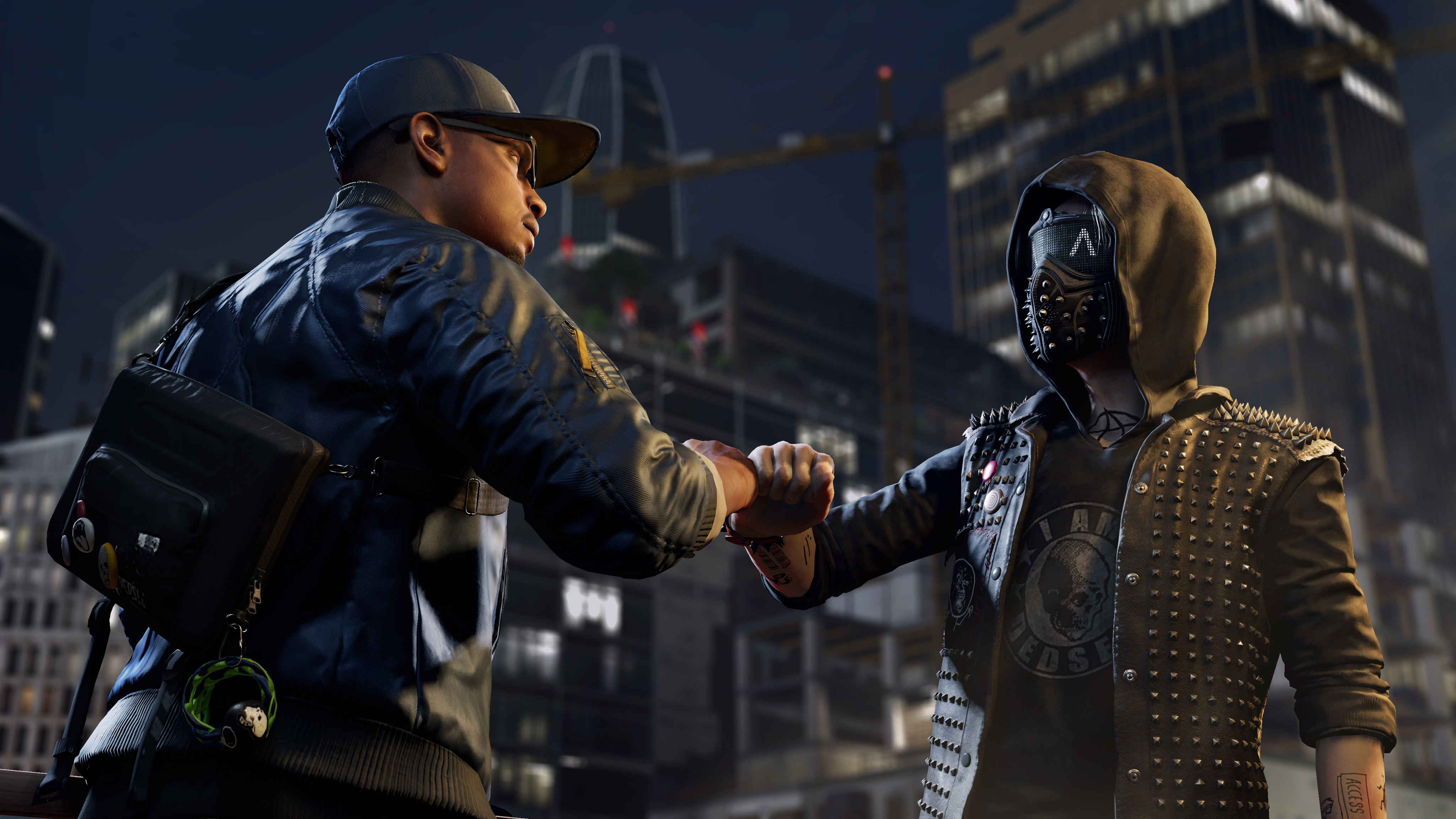 watch dogs 2 widescreen computer background 1349