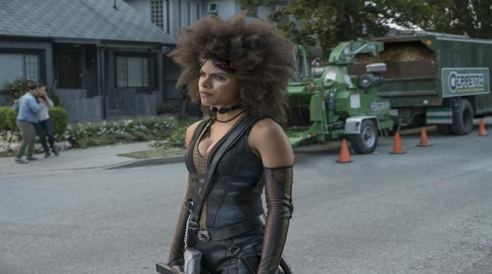 Zazie Beetz Deadpool 2 Desktop Wallpaper 1656