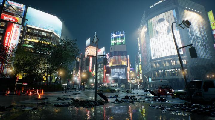 Ghostwire Tokyo PS5 HD Wallpaper Background 2277
