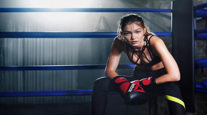 Gigi Hadid Reebok Hot HD Wallpaper Background 2278
